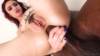BBC fucks anal-insane hooker Lola Fae and fills her mouth with sperm
