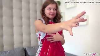 German scout anal fick bei casting fuer 18 jahre teen