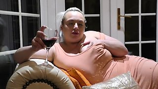 Drunk brit bbw