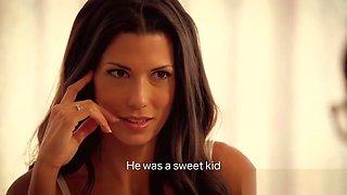 Latina mom seducing her stepson