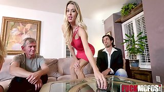Alexa Grace, Natalia Starr In Blonde Swingers Threesome