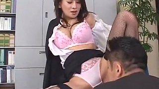 Crazy Japanese girl Rei Kitajima in Exotic Big Tits, Secretary JAV clip