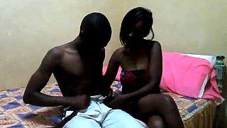 African exgirlfriend leaked amateur video