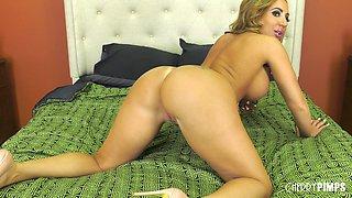 Busty honey Richelle Ryan having her slippery pussy penetrated