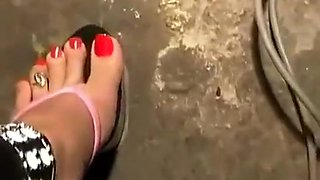 Horny homemade Foot Fetish adult video