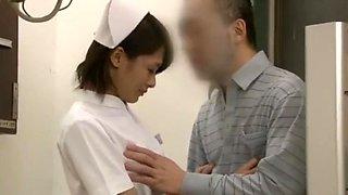 Hottest Japanese girl Yuki Natsume, Kana Oohori, Nana Usami in Horny Nurse JAV clip