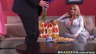 brazzers - mommy got boobs - mommy sandwich scene starring d