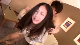 Incredible Japanese slut Mau Morikawa, Mika Osaki, Chisato Ayukawa in Amazing Gangbang, Blowjob/Fera JAV clip