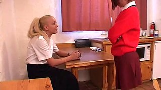 Reform school sisters (spanking)