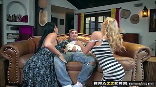 Brazzers - Milfs Like it Big - Alexis Fawx Romi Rain Keiran Lee - Pervert