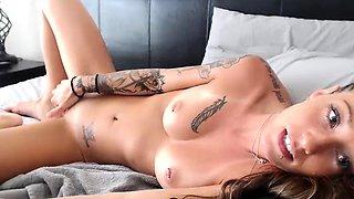 Lesbian Teen Toying Pussy