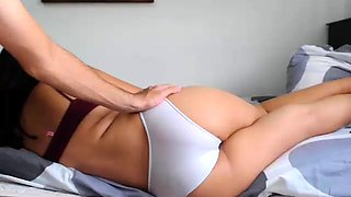 Ass Bouncing Brunette Fucking Doggystyle