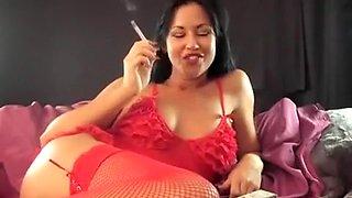 Exotic amateur Smoking, Compilation porn scene