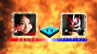 Japanese mixed wrestling 2