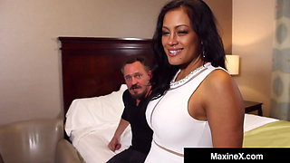 Cuckold Husband Films MaxineX Fucking Another Man's Cock!