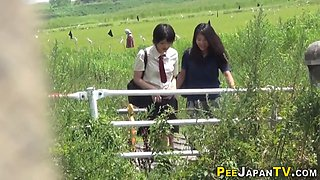japanese teens gush urine extreme