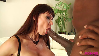 Eva Karera taking monster black cock