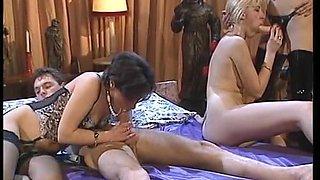 sexy euro foursome
