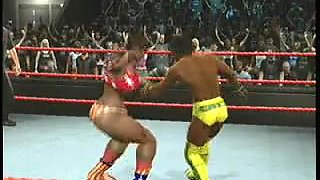 nicole vs kofi kingston clip