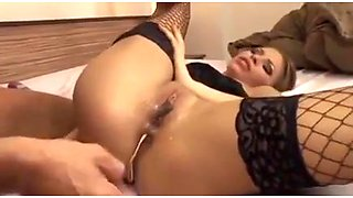 Maid to be an anal whore