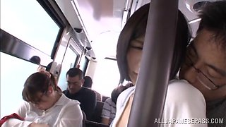 Innocent Airi Gets Defiled In Public Bus
