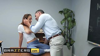 Brazzers - Big Tits at School - Naughty Trade for a Good Grade