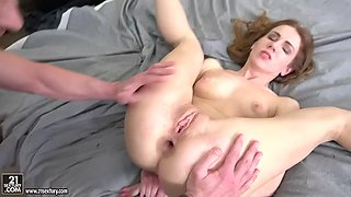 sexy russian starlet melissa benz is ready for ass banging