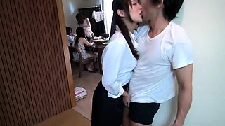 Naughty Japanese schoolgirls explore their sexual desires