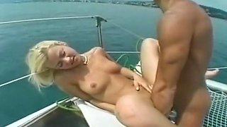 Hottest pornstar Daniella Rush in horny cunnilingus, group sex adult clip