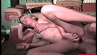Dad an d daughter violate each others holes! vintage