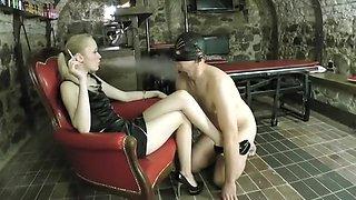 Hottest amateur Femdom, Smoking adult movie