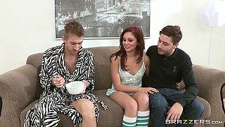 Naughty Ass Teen Crazy For Big Cocks