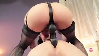 Femdom Mistress Strapon Fucking Compilation