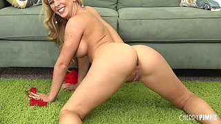 Cherie Deville gets fucked live and her pussy loves that big cock