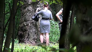 Brunette amateur girlfriend sucks and fucks outdoor