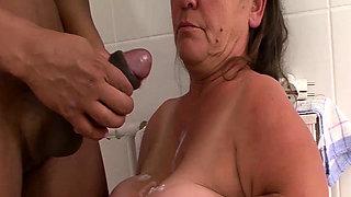 mature midget first interracial porn