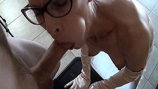 Glasses & Gloves - BJ + Facial (large)