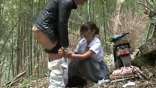 Hottest Japanese chick Nozomi Aiuchi, Hitomi Kitagawa in Incredible Fingering, Blowjob JAV movie
