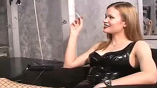 Crazy homemade Smoking, BDSM adult scene