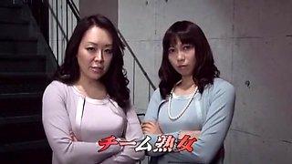 Fabulous Japanese slut Riko Shinoki, Tsubaki Katou, Eri Makino in Best Close-up, Strapon JAV video