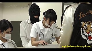 Jav Nurses Cosplay Bizzare Sex Fucked All Over The Hospital While Attending Patients Outrageous Scene