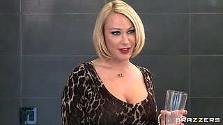 Hot Blonde Milf Goes Cougar On A Young Guy