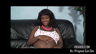 Black Barefoot and Pregnant - More at PregHoes.com