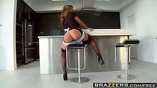 Brazzers - Big Wet Butts -  French Kiss My Asshole scene starring Mia Lelani and James Deen