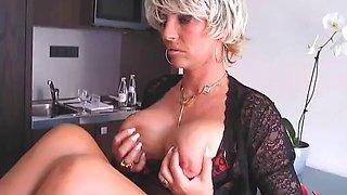 WORLD NYLON on mature Lady 2