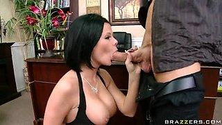 Boss anal fuck secretary
