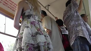 Incredible Amateur clip with Voyeur, Upskirt scenes