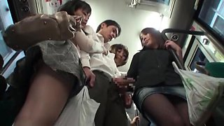 Married Woman Bus Erection