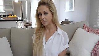 Cherie Deville's son blackmails her!