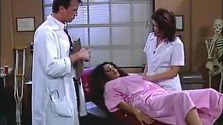 Crazy pornstar Bobbi Bliss in incredible nurse, black and ebony xxx video
